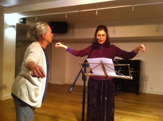 Gabriella Merloni stage Harmoniques