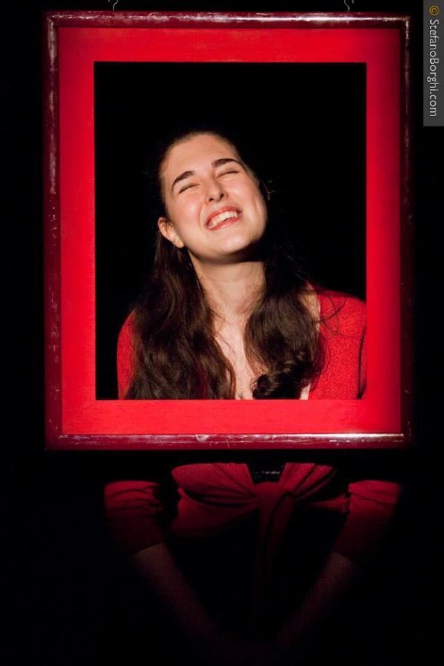Gabriella Merloni-Une femme seule Dario Fo-sur les planches 8