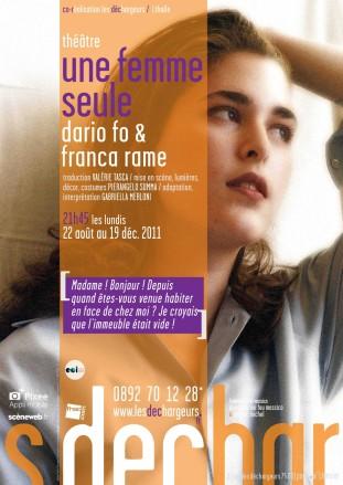 Affiche Théâtre Les Déchargeurs